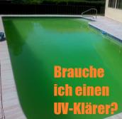 Pool schwebealgen grünes Wasser uv-klaerer.de UVC Poolfilter Druckfilter Durchlauffilter Sandfilter