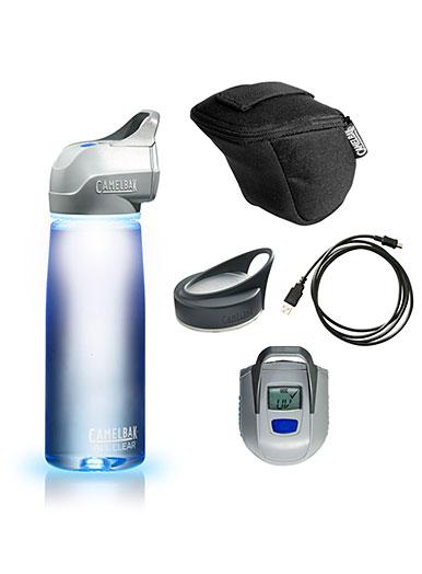 Camelbak All Clear Trinkflasche mit UVC Licht mit Zubehör