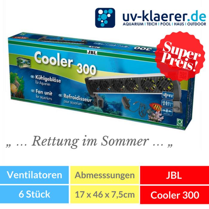 Aquarium-Kühler JBL Cooler 300 Meerwasser Süßwasser Kaltwasser