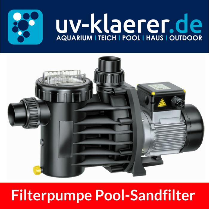 Filterpumpe für Sandfilteranlage