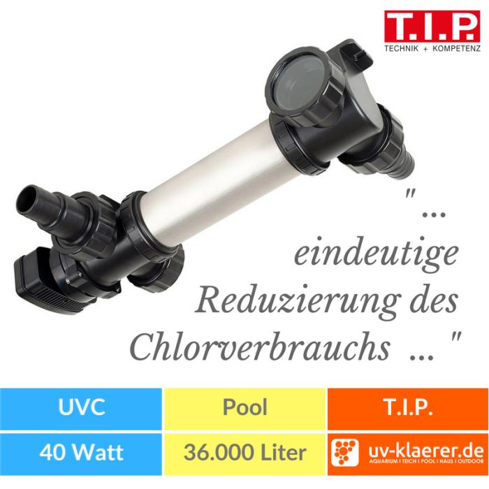 T.I.P. Pool UV-C Strahler Klärer SPU 36000
