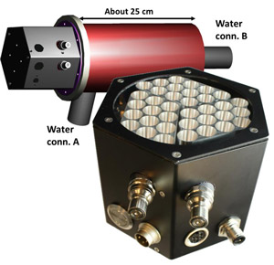 UVC LED Modul zur Wasserdesinfektion der OSA Opto Light GmbH Berlin