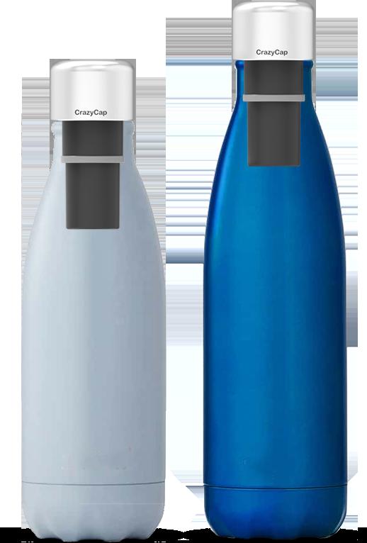 CrazyCap - passend für unterschiedliche Trinkflaschen